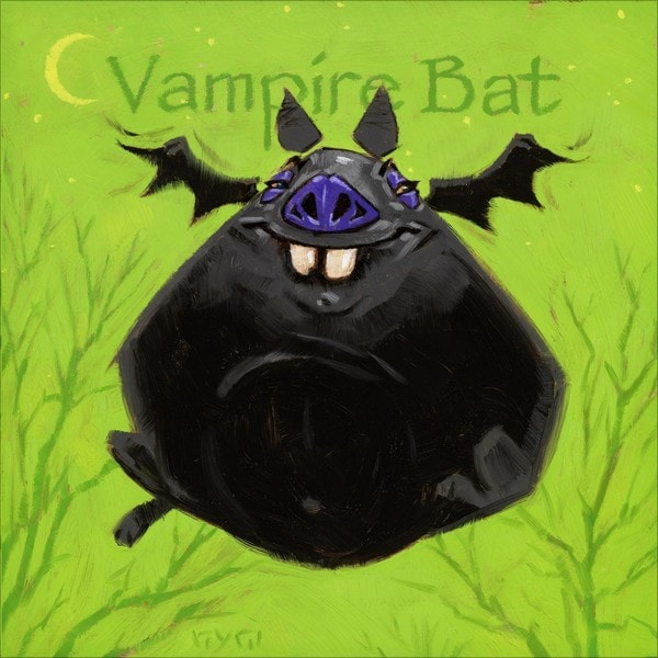Amberton Publishing Vampire Bat Canvas Art
