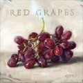 'Amberton Publishing Red Grapes' Canvas Art