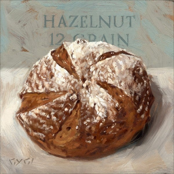 'Amberton Publishing Hazelnut Bread' Canvas Art
