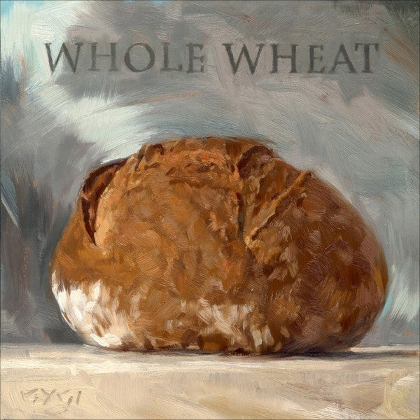 'Amberton Publishing Whole Wheat Bread' Canvas Art