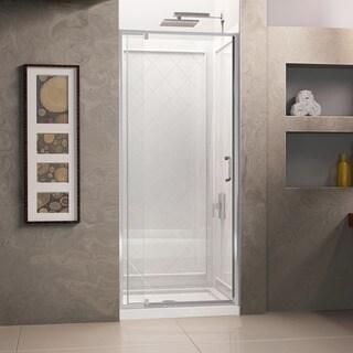 DreamLine Flex Pivot Shower Door, Shower Base and Shower Backwall Kit