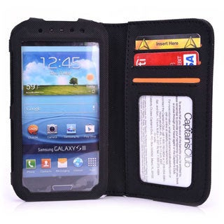 "Kroo Men's BiFold Wallet for 5"" Smartphone"