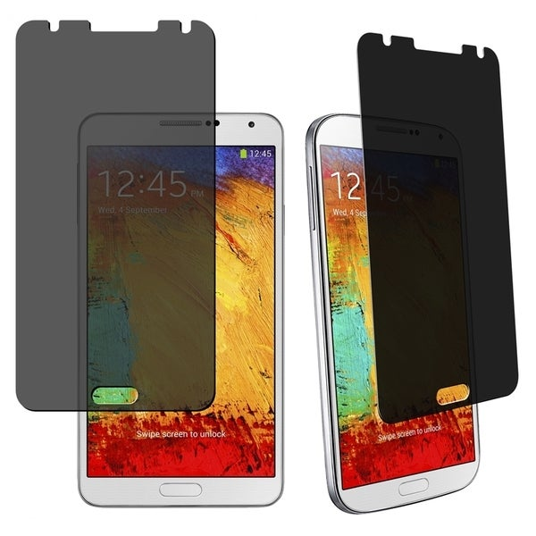 eForCity Screen Protector Compatible with Samsung© Galaxy Note III N9000 255107080