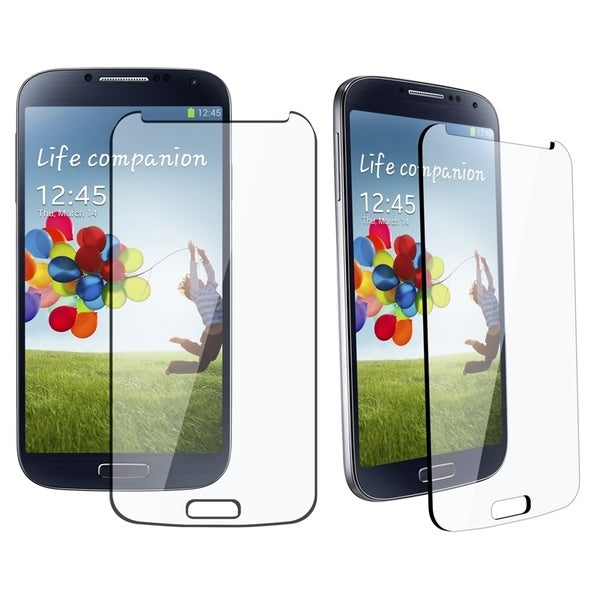 INSTEN Tempered Glass Screen Protector for Samsung Galaxy S4 i9500