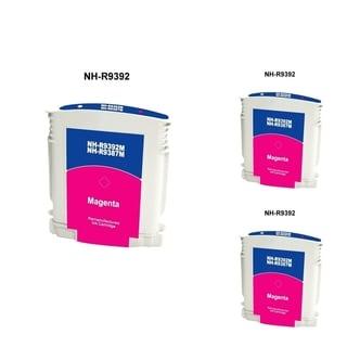 INSTEN HP 88 Magenta Ink Cartridge (Remanufactured) (Pack of 3)