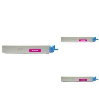 Insten Premium Magenta Color Toner Cartridge 43459302 for OKI C3300/ C3400C3520