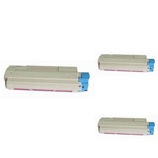 Insten Premium Magenta Color Toner Cartridge 44315302 for OKI C610