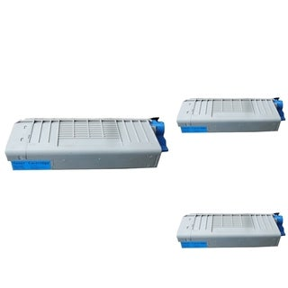 BasAcc Cyan Toner Cartridge Compatible with Okidata C710/ C711