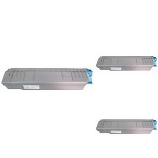Insten Premium Black Color Toner Cartridge 44059112 for Okidata C830