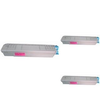 BasAcc Magenta Toner Cartridge Compatible with Okidata C830