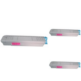 BasAcc Magenta Toner Cartridge Compatible with Okidata C830