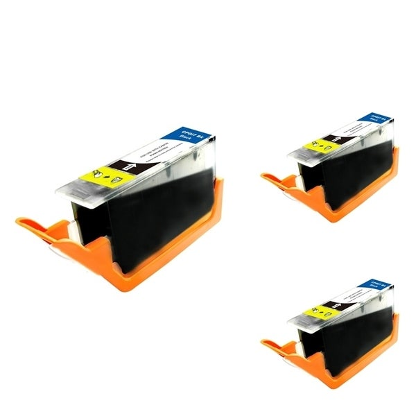 INSTEN Black Ink Cartridge for Canon PGI-7BK