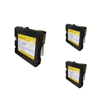 BasAcc Yellow Ink Cartridge Compatible for Ricoh GC31/ GC31H