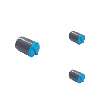 INSTEN Cyan Toner Cartridge for Samsung CLP-300/ CLX2160