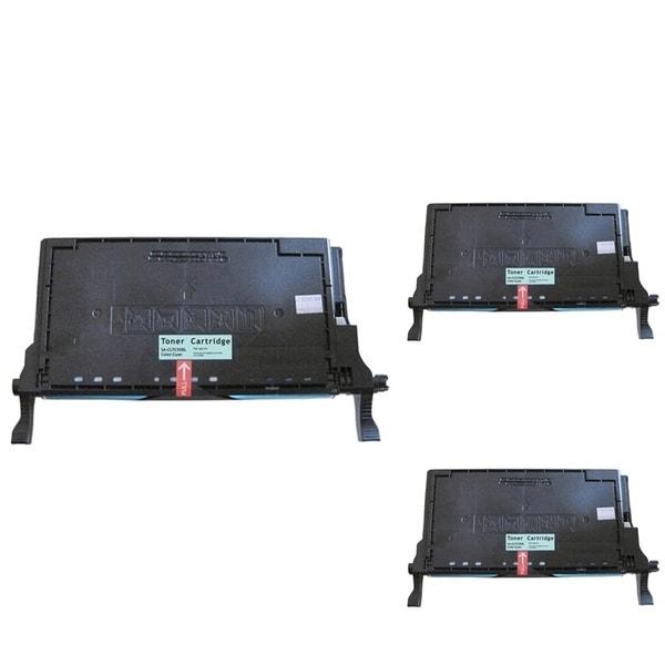 Insten Premium Cyan Color Toner Cartridge CLT-C508S/ L for Samsung CLP-620/ 670