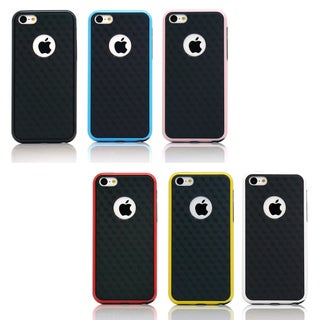Gearonic Slim Hybrid PC Rugged TPU Back Case Cover for Apple iPhone 5C