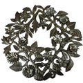 Handmade 15-inch Steel Drum Wreath (Haiti)