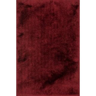 Hand-tufted Evelyn Garnet Shag Rug (7'6 x 9'6)