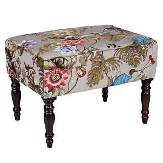 angelo:HOME Brighton Hill Antique Floral Bird Small Bench