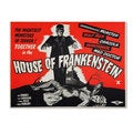Vintage Apple Collection 'House of Frankenstein' Canvas Art