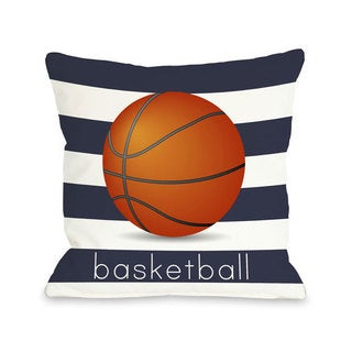 Basketball Throw Pillow