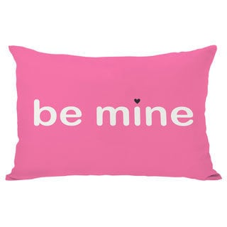 Be Mine / Valentine Reversible Throw Pillow