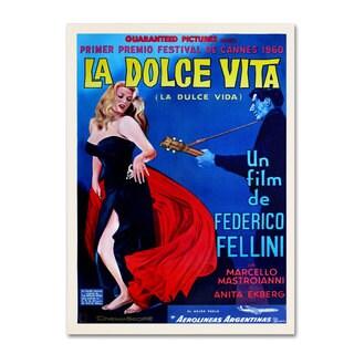 Vintage Apple Collection 'La Dolce Vita' Canvas Art