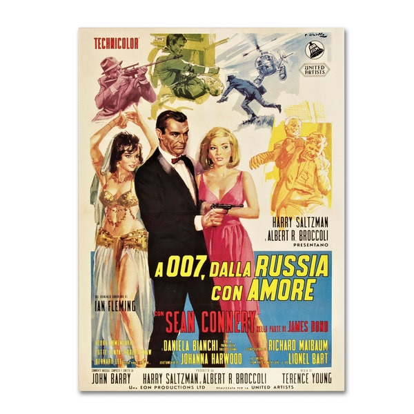 Vintage Apple Collection 'From Russia With Love' Canvas Art