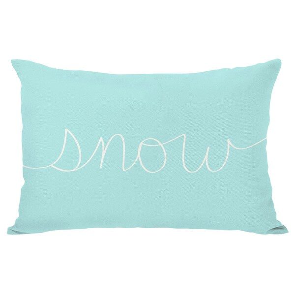 Snow Mix & Match Holiday Throw Pillow