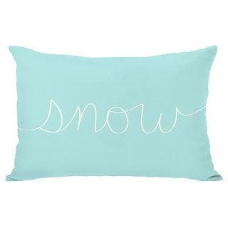 Snow Mix & Match Holiday Throw Pillow