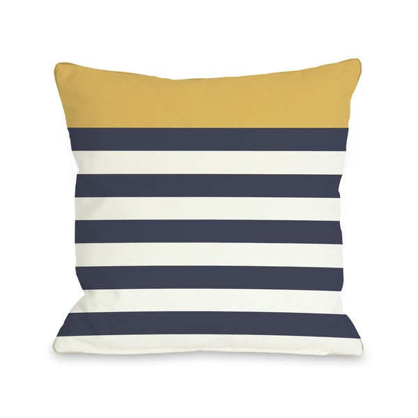 Nautical Mimosa Throw Pillow