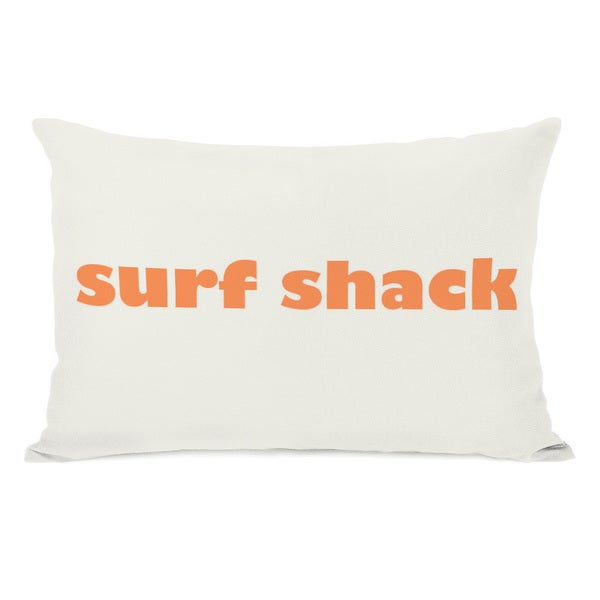 Surf Shack Throw Pillow