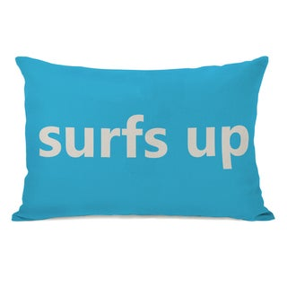 Surfs Up Throw Pillow