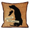 A Little Sole Searching Throw Pillow