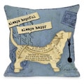 Always Hopeful, Always Happy Throw Pillow