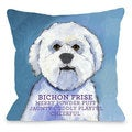 Bichon Frise 1 Throw Pillow