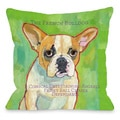 French Bulldog 1 Throw Pillow