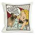 Had To Give The Kids Away Dog Lover Throw Pillow
