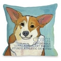 Corgi Dog Decorative Throw Pillow