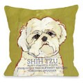 Shihtzu Decorative Throw Pillow