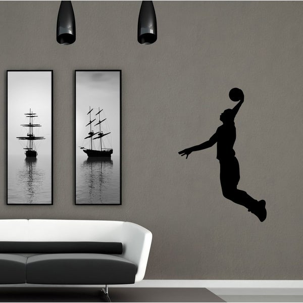 Basketball Player Vinyl Wall Decal