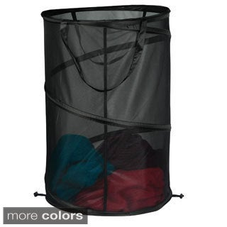 Spiral Micro Mesh Pop Up Hamper