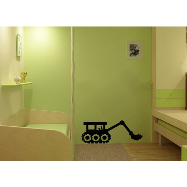 Bulldozer Vinyl Wall Decal
