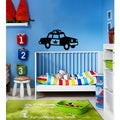 Police Car Vinyl Wall Decal