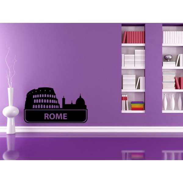 Rome Coliseum Sights Cities Of The World Vinyl Wall Decal
