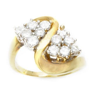 14k Yellow Gold 3/5ct TDW Estate Ring (G-H, VS1-VS2)