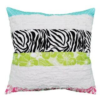 Lacey Zebra Stripe Decorative Pillow
