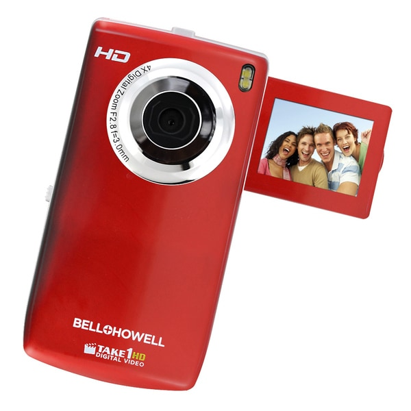 Bell+Howell Take1HD Flip Video Camcorder with 2GB SD Card