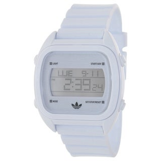 Adidas Men's Syndney ADH2727 White Plastic Analog Quartz Watch with Digital Dial