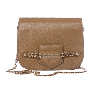 Jimmy Choo 'Shadow' Buff Deerskin Chain Crossbody Bag